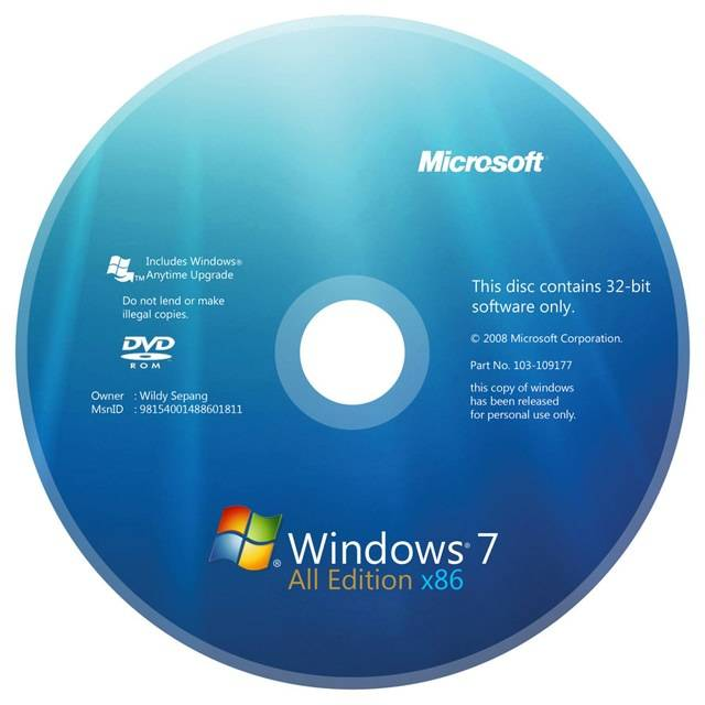 Win7 iso install software